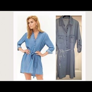 Dresses & Skirts - Denim dress.  Very cute.